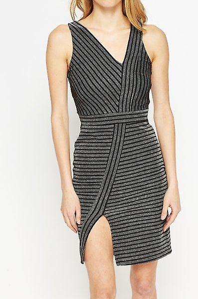 فستان ملكة جمال سيلفريدجي ﻻري شريطية Asymetric DR851-6