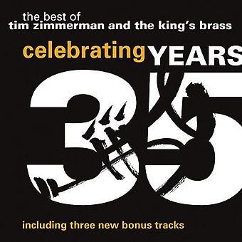 Des Königs Messing / Zimmerman:Cnd - feiert 35 Jahre: Tim Zimmerman und den König S Messing [CD]-USA import