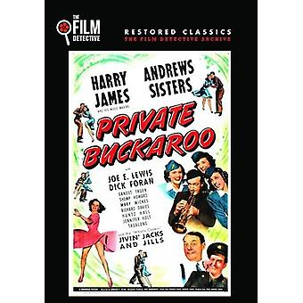 Private Buckaroo [DVD] USA import