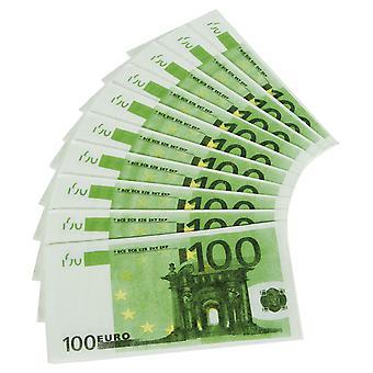 Șervețele 10 buc 100 euro Sham contrafăcute decorare Partidul juca bani