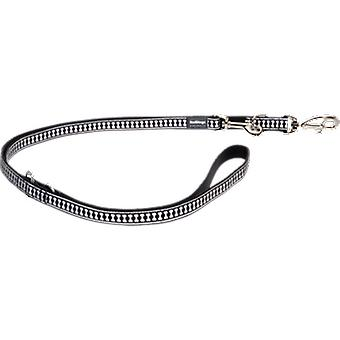 Red Dingo Reflective Strap Black (Dogs , Collars, Leads and Harnesses , Leads)