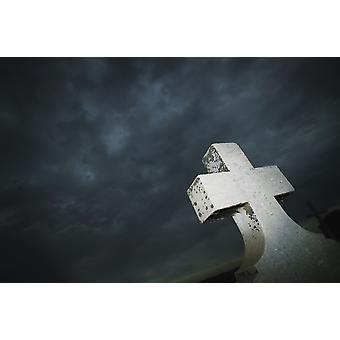 石造りの十字ケリー Redinger デザイン写真でポスター印刷