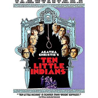 Ten Little Indians (1974) [DVD] USA import