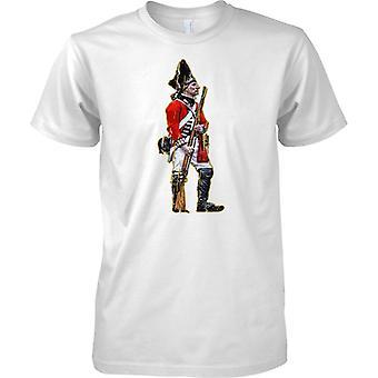 Britannique soldat - manteau rouge infanterie - Mens T Shirt