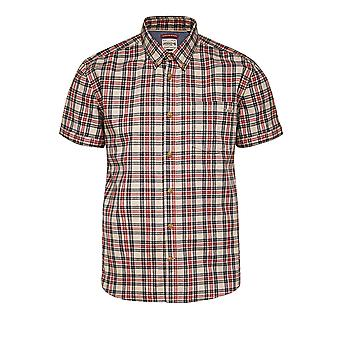 Jack and Jones Tuscon One Chilli Pepper Red Casual Shirt