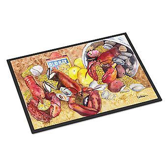 Carolines Treasures  8719JMAT Lobster  Indoor or Outdoor Mat 24x36 Doormat