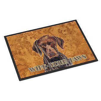 German Shorthaired Pointer Indoor or Outdoor Mat 18x27 Doormat