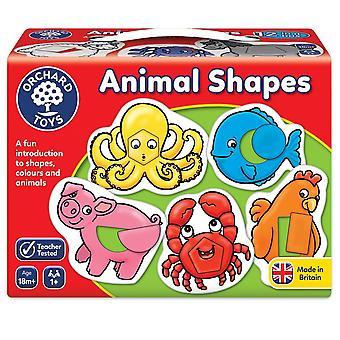 Фруктовый сад игрушки 021 животных форм