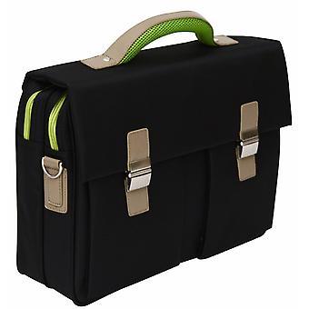 """Soft Quality 15.6"""" Laptop Briefcase Business Shoulder Bag Work Case Satchel"""