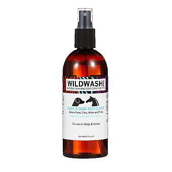 Wildwash Flea & Bug Repellent Spray Protection for Dogs and Horses, 300ml