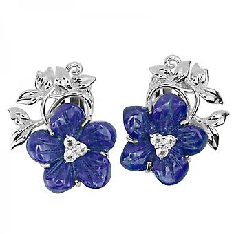 Shipton and Co Ladies Shipton And Co Silver And Lapis Lazuli EQA359LLWT=C