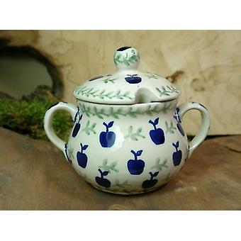 Zuccheriera, altezza 10 cm, diametro 12 cm, tradizione 50 - ceramiche da tavola - BSN 22013