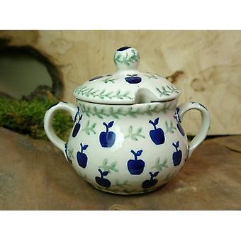 Sugar Bowl, height 10 cm, diameter 12 cm, tradition 50 - ceramic tableware - BSN 22013