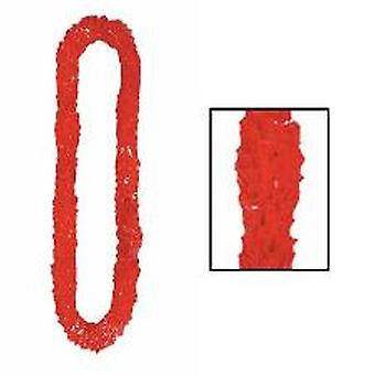 Soft-Twist Poly Leis - rouge (1)