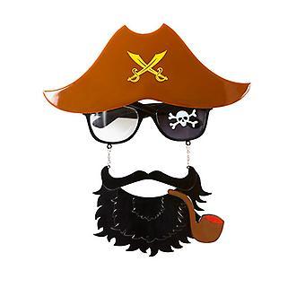 Gafas de capitán pirata
