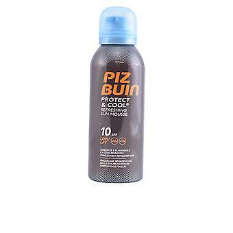 Piz Buin beschermen & Cool Sun Mousse Spf10 150 Ml Unisex