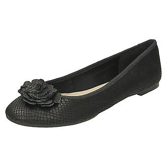 Ladies Clarks Leather Ballet Shoes Alicia Amy