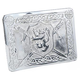 Celtic Lion Rampant Belt Buckle
