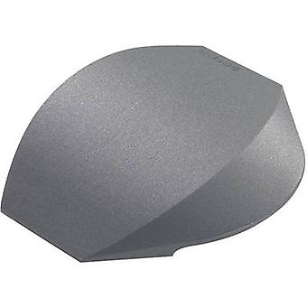 Serpa End piece TPE (low-odour thermoplastic elastomer ) Dark grey Content: 2 pc(s)