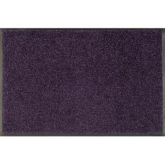 wassen + droge trend-kleuren fluweel paarse wasbaar vloer mat paars Berry