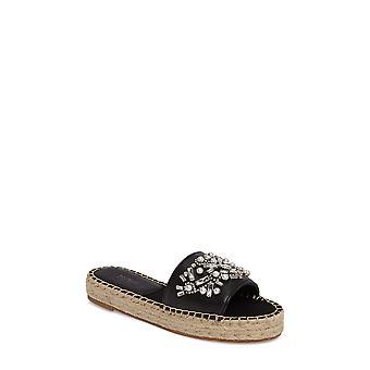 Botkier Womens Jin Leather Open Toe Casual Slide Sandals