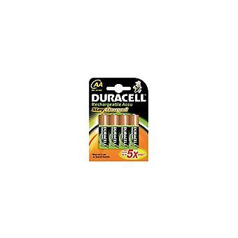 Duracell STAYCHARAAP4 batteri genopladelige
