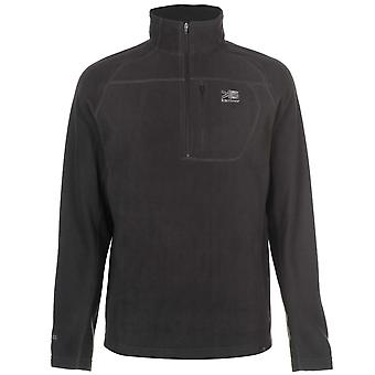 Karrimor Mens Microfleece Pullover Warm Winter Sportswear Activewear Collared