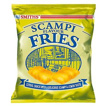 Smiths Scampi Fries Pub Card
