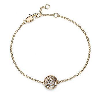 Oliver Weber Bracelet Pin Gold Crystal