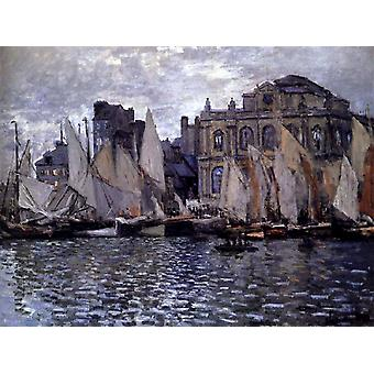 Le Musée du Havre, Claude Monet, 50x40cm
