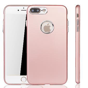Apple iPhone 7 / 8 plus etui - komórka telefon case dla Apple iPhone 7 / 8 plus - przenośnej walizce w rose różowy
