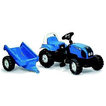 Rolly Toys RollyKid 011841 Landini Traktor + Anhänger 100 Power Farm