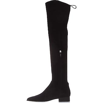 DKNY Womens Tyra Pointed Toe Over Knee Fashion Boots