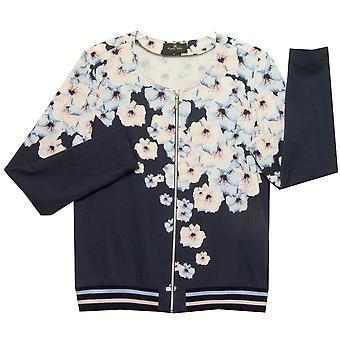 EUGEN KLEIN Jacket 9946 81107 Navy With Pink