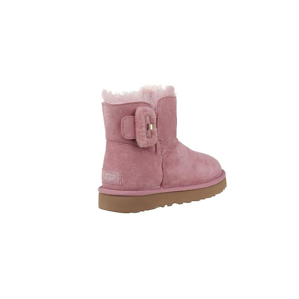 1104182PDW universele winter vrouwen schoenen UGG Mini Bailey pluis Buckle - Gratis verzending gWtdO7