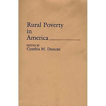 Landdistrikterne fattigdom i USA af Duncan & Cynthia