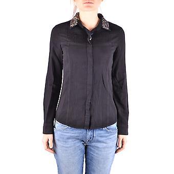 Jacob Cohen Ezbc054220 Frauen's schwarz andere Materialien Shirt