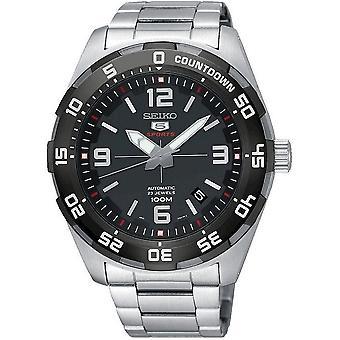 Relógio de mens Seiko Seiko 5 sports automático SRPB81K1