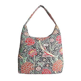 William morris - the cray shoulder hobo bag by signare tapestry / hobo-cray