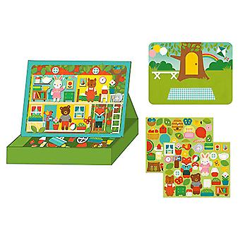 Petit Collage Magnetic Play Scene