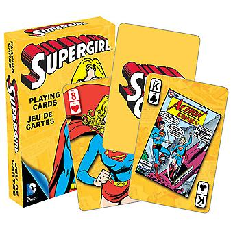 DC Comics Supergirl Retro Playing Cards