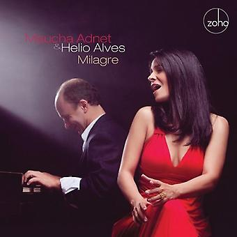 Maucha Adnet & Helio Alves - Milagre [CD] USA import
