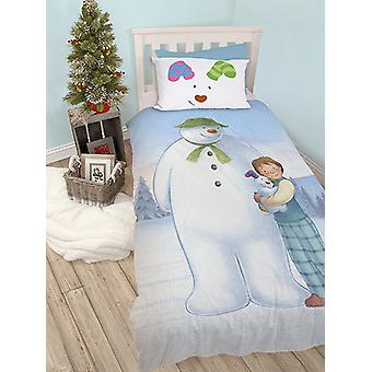 The Snowman and the Snowdog Single Duvet Cover Set