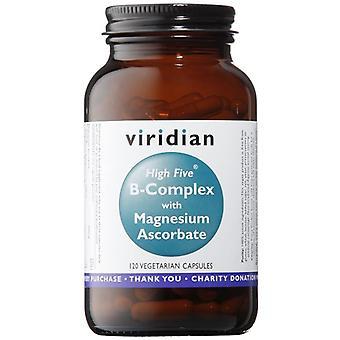 Viridian HIGH FIVE B-Complex/Mag Ascorbate Veg Caps 120 (253)