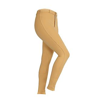 Shires Maids Saddlehugger Jodhpurs - Canary