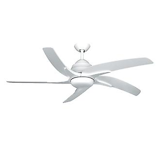 Ventilateur de plafond Viper Plus blanc avec éclairage 112 cm/44