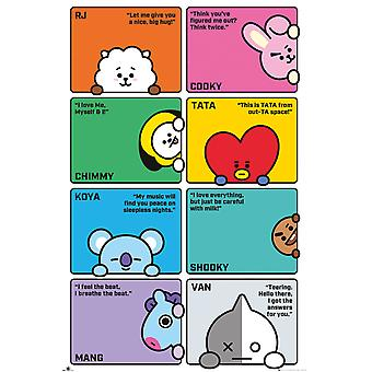BT21 Compilation Maxi Poster