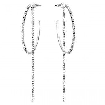 Swarovski Earrings 5504570 - M tal Silver Crystals Clecing Women's CleantS