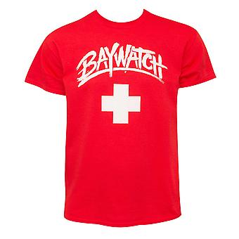 Baywatch Classic Red Tee Shirt