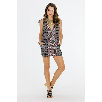 Electric nights romper